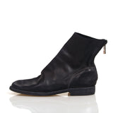 GUIDI 986 MS BACK ZIP CALF LEATHER BOOTS / SZ 39