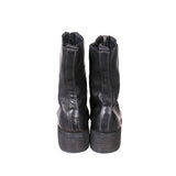 GUIDI PL2 HORSE FULL GRAIN FRONT ZIP LEATHER BOOTS
