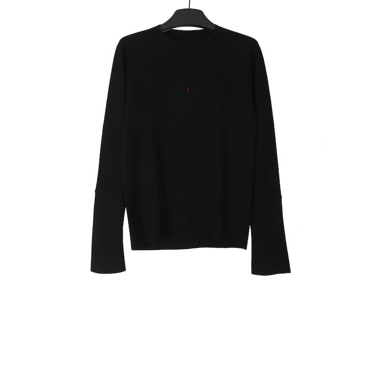 M.A+ T211D-JWM BLACK ONE PIECE LONG SLEEVE SHIRT