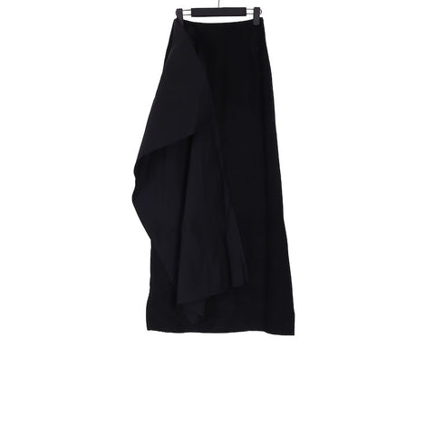 YANG LI AW18 NEW PINCH WOOL SKIRT