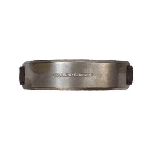 JULIUS JULIUS_7 SS08 BANGLE WITH ELASTIC LEATHER STRAP