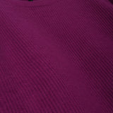 UNRAVEL PROJECT AW18 PURPLE RIB BOILED OVERSIZE KNIT SWEATER DRESS