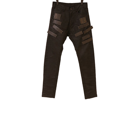 "JULIUS THE NEW ""BEAST"" AW16 COTTON TROUSERS"
