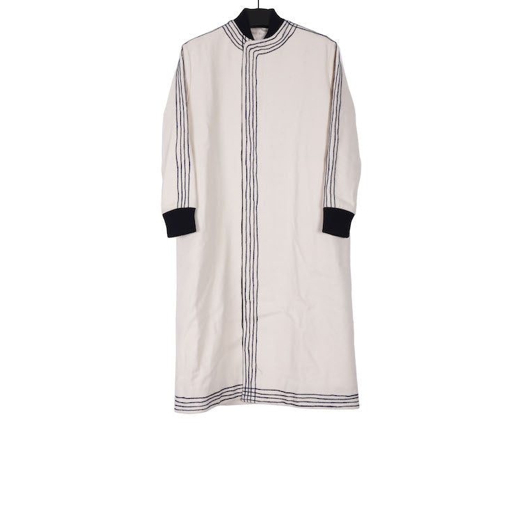 TOOGOOD AW17 CHALK COTTON THE PILOT COAT