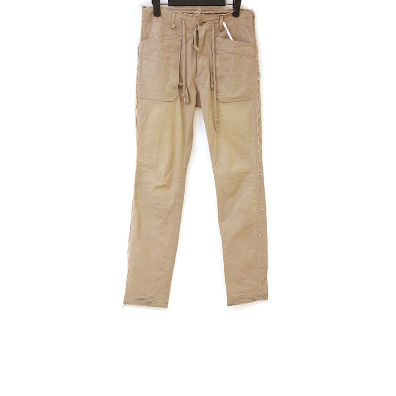 TAKAHIROMIYASHITA THE SOLOIST SS15 COTTON GRAVGE FATIGUE PANTS
