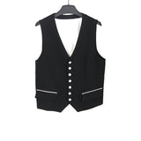 NUMBER (N)INE NINE WOOL WAIST COAT VEST