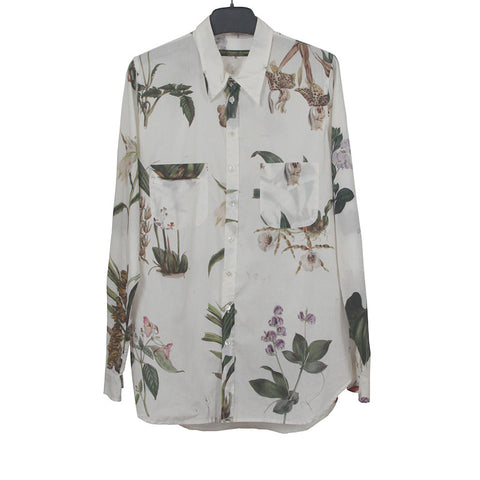 PAUL HARNDEN SHOEMAKERS 15SS COTTON FLOWER PRINT SHIRT