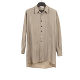GEOFFREY B.SMALL STRIPED BUTTON UP SHIRT