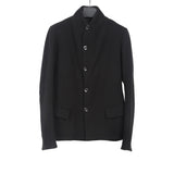 A1923 AUGUSTA WOOL BLEND STAND COLLAR BLAZER JACKET
