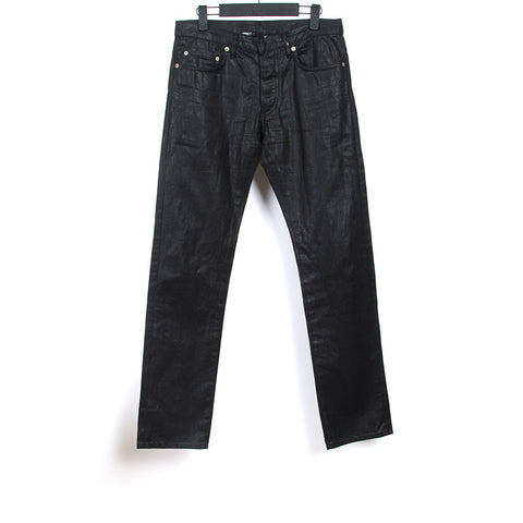 DIOR HOMME 07AW WAXED SKINNY DENIM