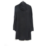 BORIS BIDJAN SABERI 12AW OBJECT DYED EXTRA LONG GLOVED JERSEY HOODIE