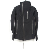 DEVOA HIGH POLYESTER WATERPROOF 3L ZIP UP HIGH COLLAR HOODED