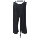 ANN DEMEULEMEESTER WOOL FLEECE WARP SKIRT