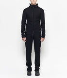 M.A+ J221DZ BLACK WOOL / CASHMERE AVIATOR JACKET
