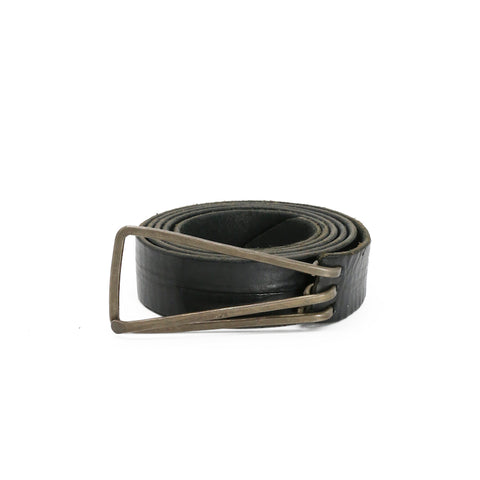 M.A+ EE1C TRIANGULAR BUCKLE SLIM BELT