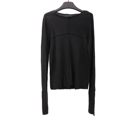 M.A+ T211D+ SPECIAL STITCHED ONE PIECE LONG SLEEVE T-SHIRT