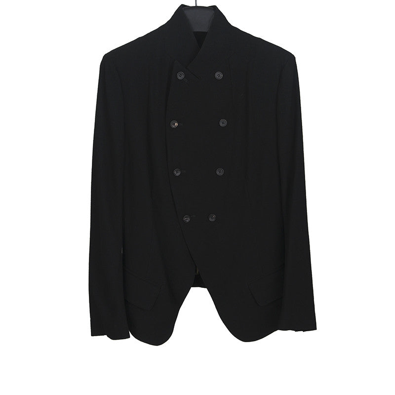 Y'S RED LABEL BY YOHJI YAMAMOTO WOOL DOUBLE BREASTED JACKET