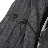 INDIVIDUAL SETIMENTS 11SS LINEN WOVEN HOODED JACKET