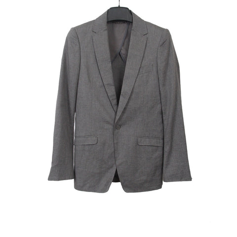 MIHARAYASUHIRO MERMAID EMBORLDERED STRIP BLAZER