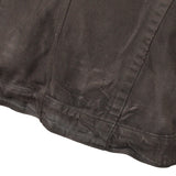 JULIUS_7 WAXED MULTI-ZIPPER DESTROYED JACKET