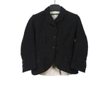 PAUL HARNDEN SHOWMAKERS WOOL LINEN BLEND WOMENSWEAR SOMERSET SHORT BLAZER