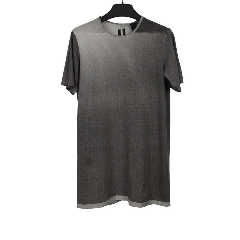 RICK OWENS DYED COLOR SHORT SLEEVE TEE