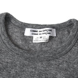 COMME DES GARCONS COMME DES GARCONS BOW DETAIL CUT-OUT SHOULDER SWEATER