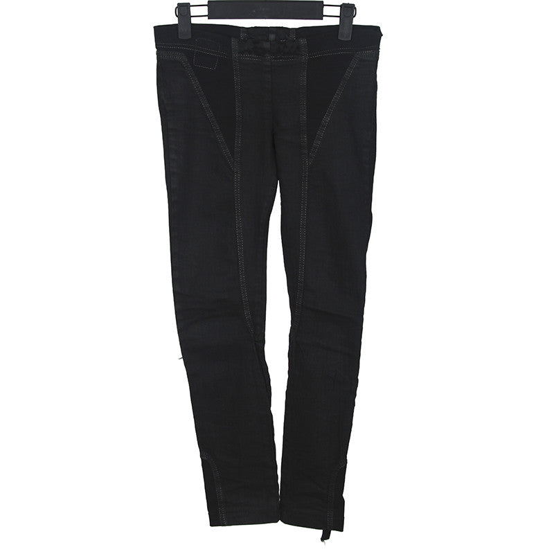 DRKSHWD BY RICK OWENS PATCH STRETCH SKINNY DENIM