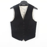 ANN DEMEULEMEESTER FADED BUTTON DOWN VEST