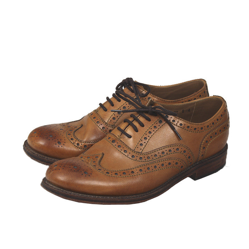 GRENSON  LEATHER STANLEY CLASSIC ENGLISH BROGUE