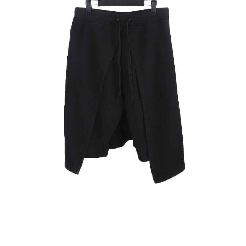 GARETH PUGH COTTON / WOOL BLEND SKIRTED SHORTS
