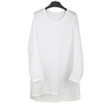 ANN DEMEULEMEESTER 15SS OVERSIZED DELIBERATE CREASE EFFECT LONG SLEEVES SHIRT