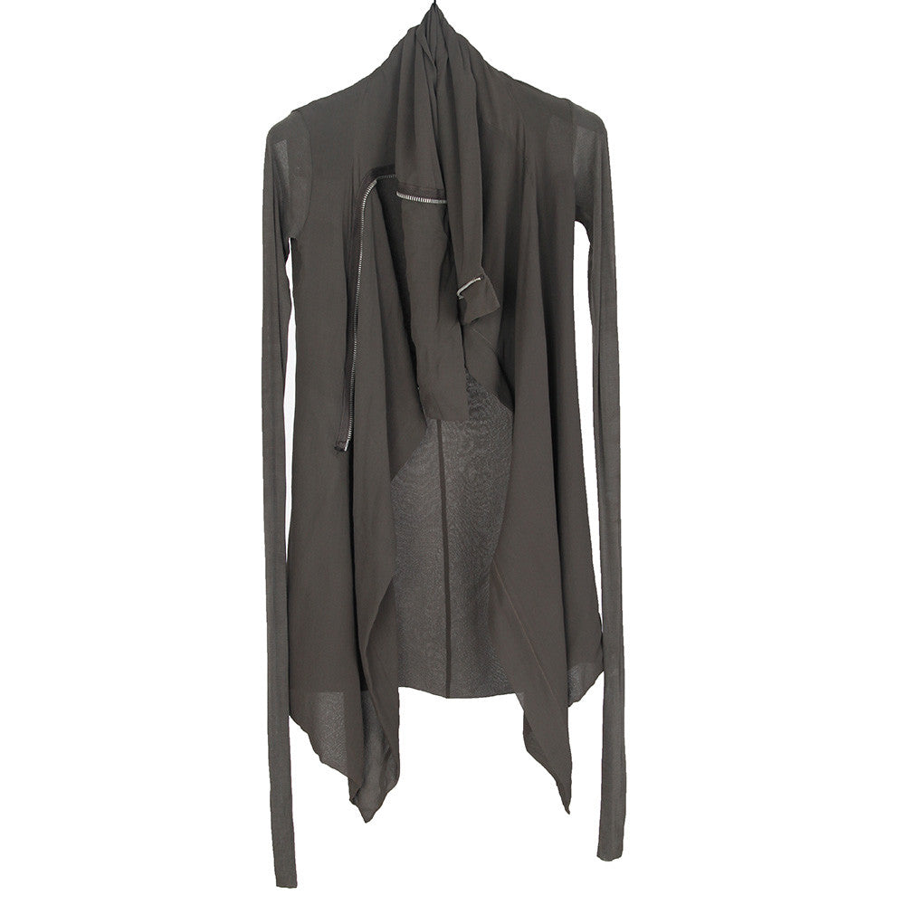 RICK OWENS ASYMMETRIC ZIP JACKET