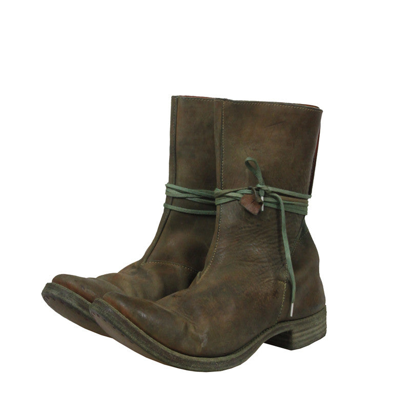 A1923 AUGUSTA LAMA SEAMLESS HIGH TOP BOOTS