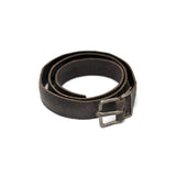 MA+ LEATHER BROWN LEATHER DOUBLE BRACELET