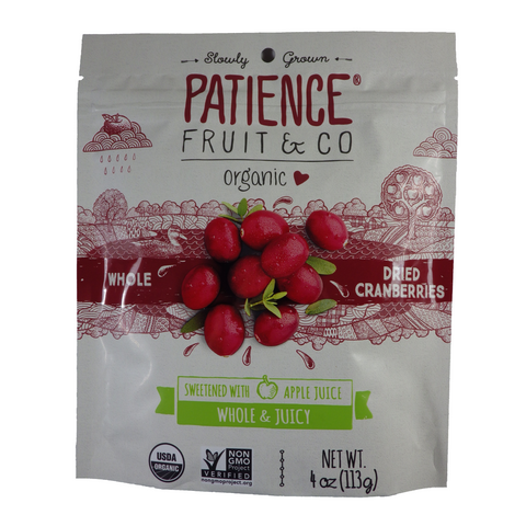 Patience - Dried Fruit - Multi-serving pouches