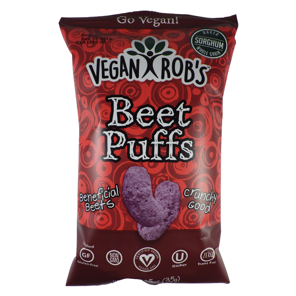 Vegan Robs - Vegetable Puff - Single and multi-serving bags