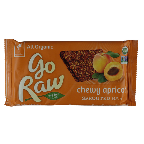 Go Raw - Fruit Bars - Single serving sprouted bars