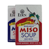 Eden - Instant Miso Soup - Boxes of individually wrapped single serving packages