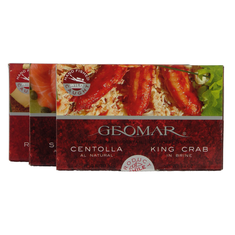 Geomar - Seafood - Single serving easy-open tins