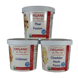 Organic on the go - Meals and Desserts - Single serving cups