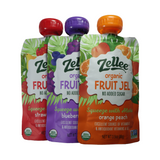 Zellee Organic - Fruit Gels - Single serving pouch