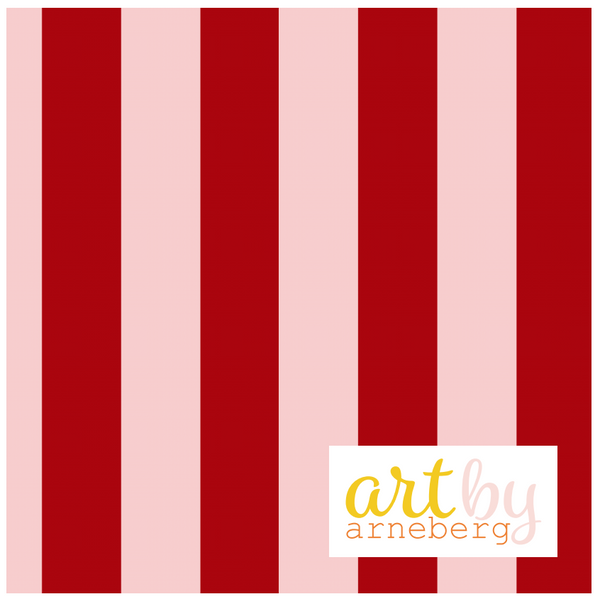 Stripes french terry pink/burgundy