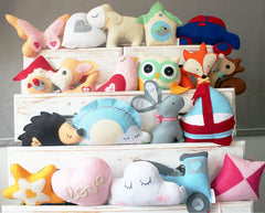Kids Designer Cuddle Cushions