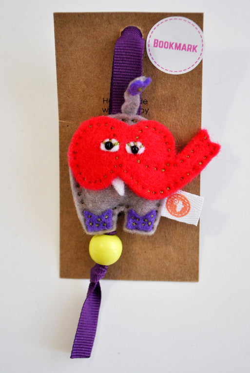BUSHFELT BOOKMARK - ELEPHANT