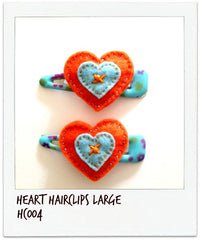 Heart Hairclip (L)