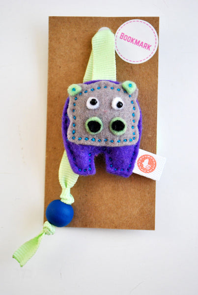 BUSHFELT BOOKMARK - HIPPO