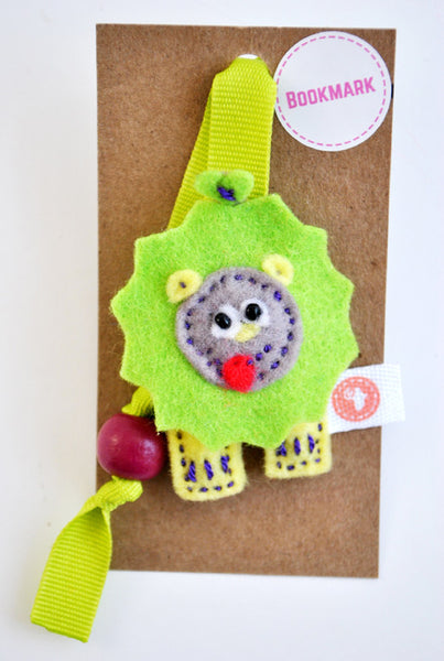 BUSHFELT BOOKMARK - LION