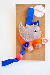 BUSHFELT BOOKMARK - RHINO