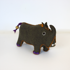 RHINO PLUSH TOY - SMALL